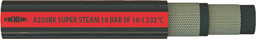 Паровой шланг A230BK 18 Bar Black Super