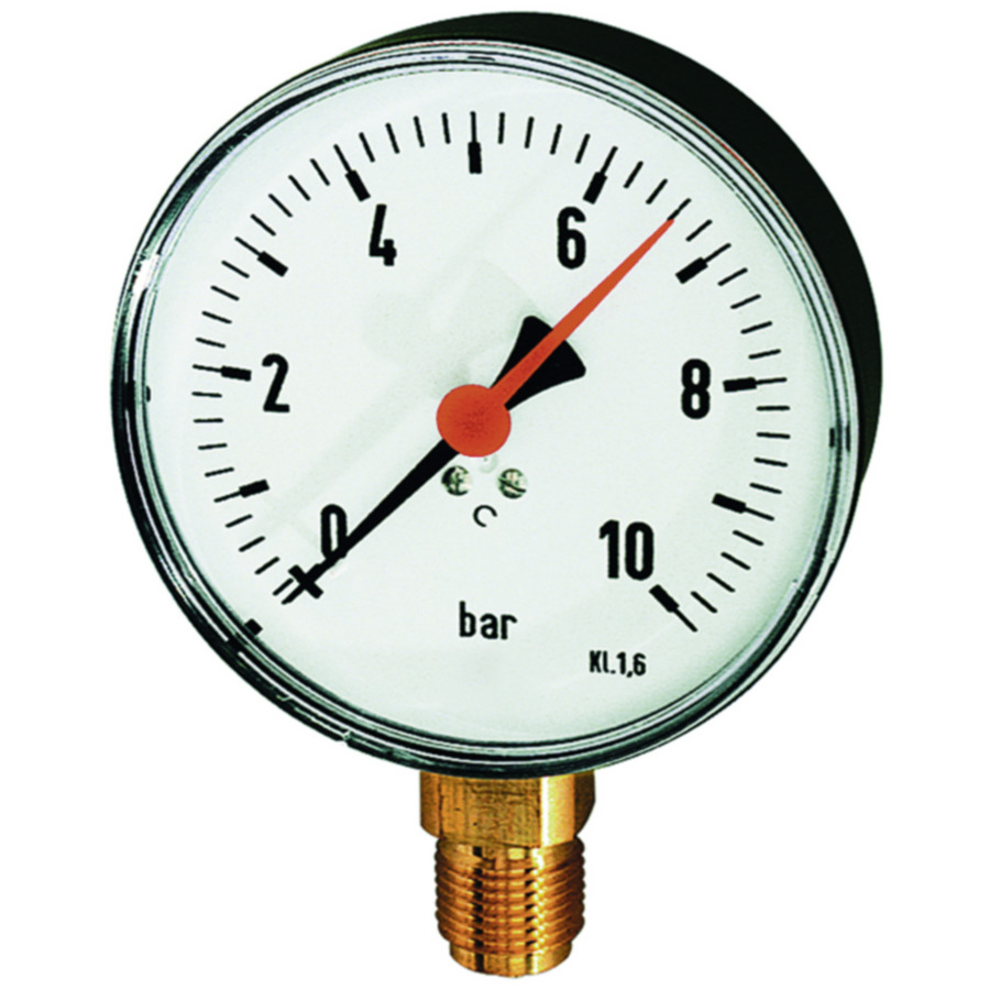Standard pressure gauges (panel-mounting type)