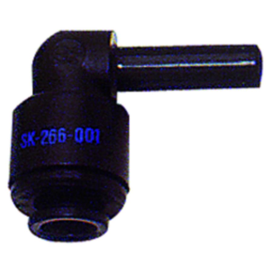 Plug-angle connector - POM
