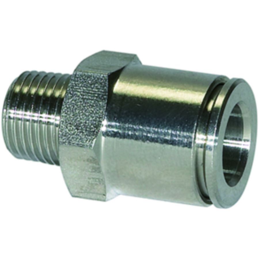 Male connectors - stainless steel