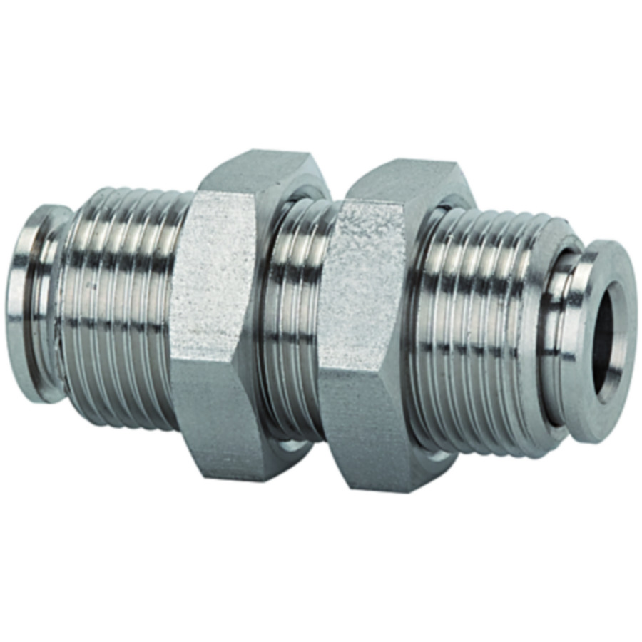 Female bulkhead connectors - stainless steel
