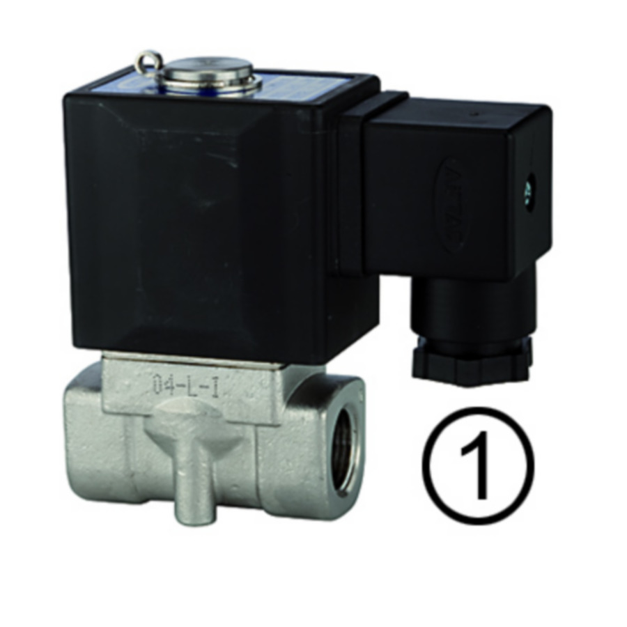Solenoid valves, normally closed, directly operated