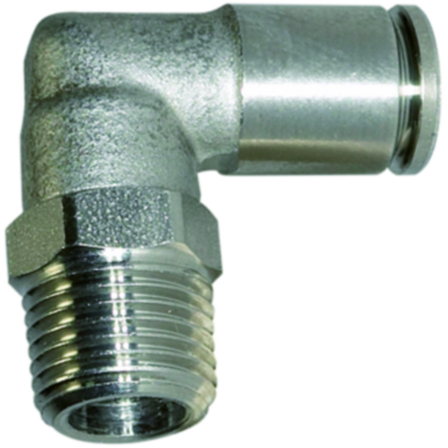 Male elbows - stainless steel