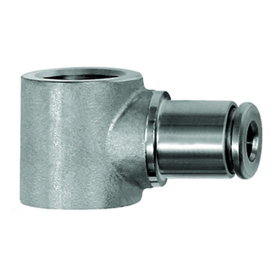 Ring nipples, single  - stainless steel