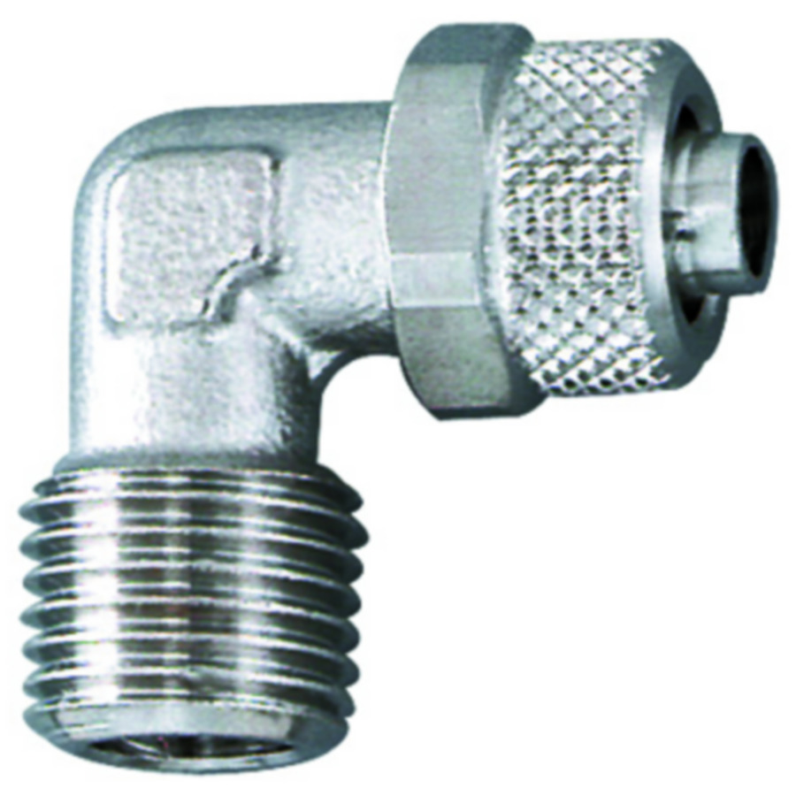 fittings elbows - Nickel-plated brass