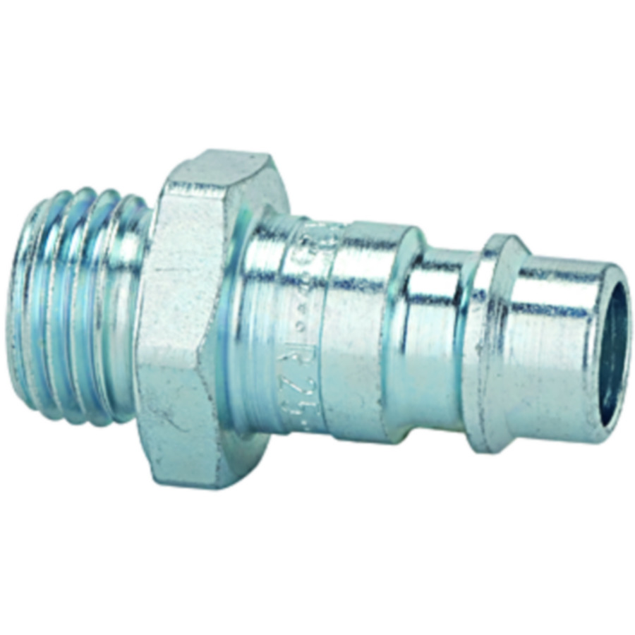 Stems and plugs for couplings DN 7.2 - DN 7.8, hardened, galvanised steel