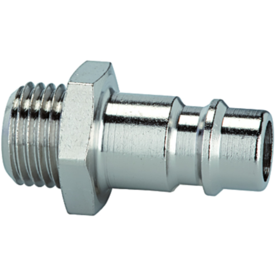 Stems and plugs for couplings DN 7.2 - DN 7.8, nickel-plated brass
