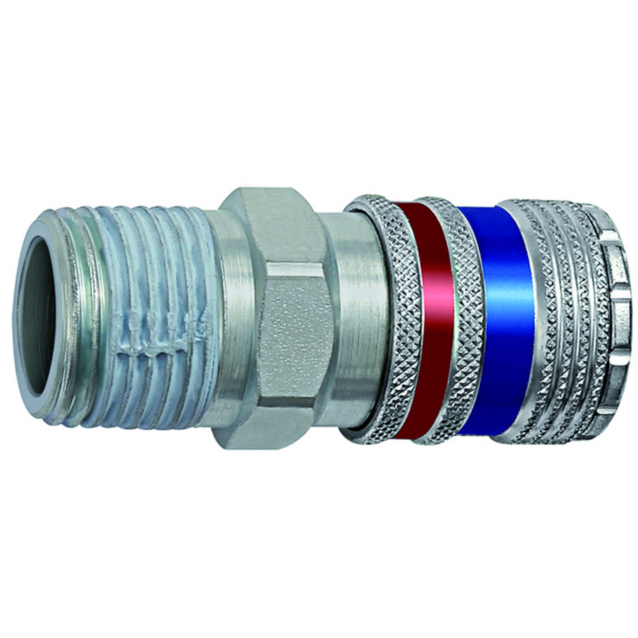 Safety couplings DN 7.6