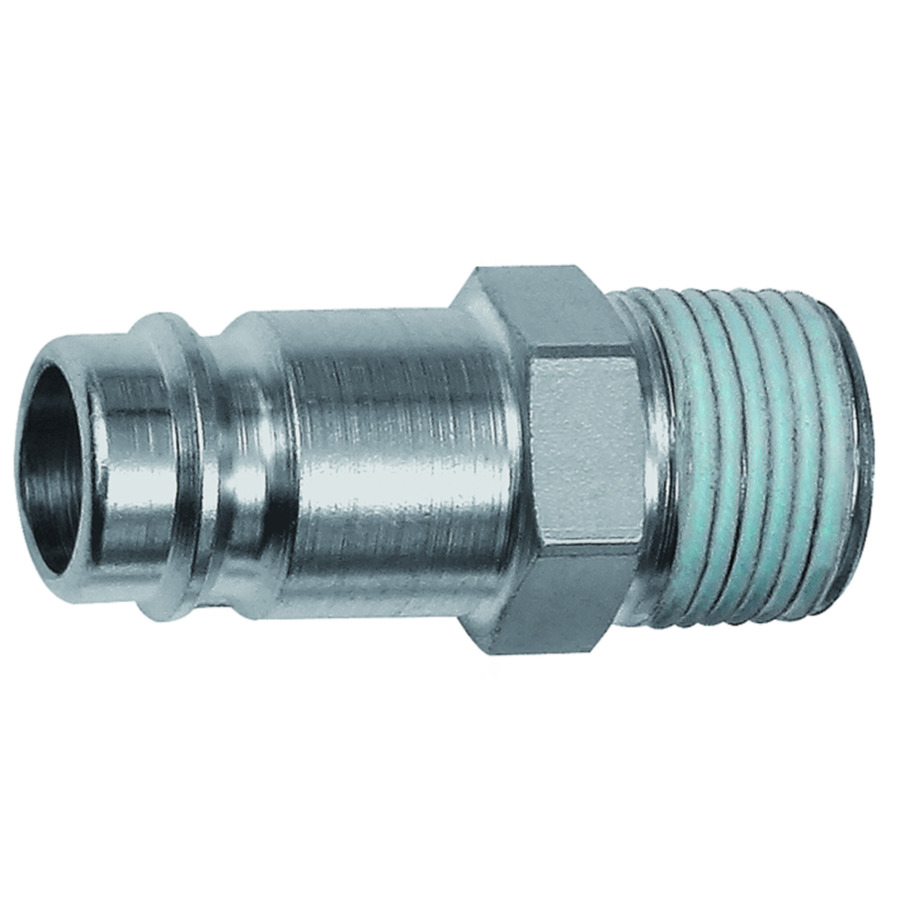 Stems and plugs for couplings DN 10, hardened, nickel-plated steel