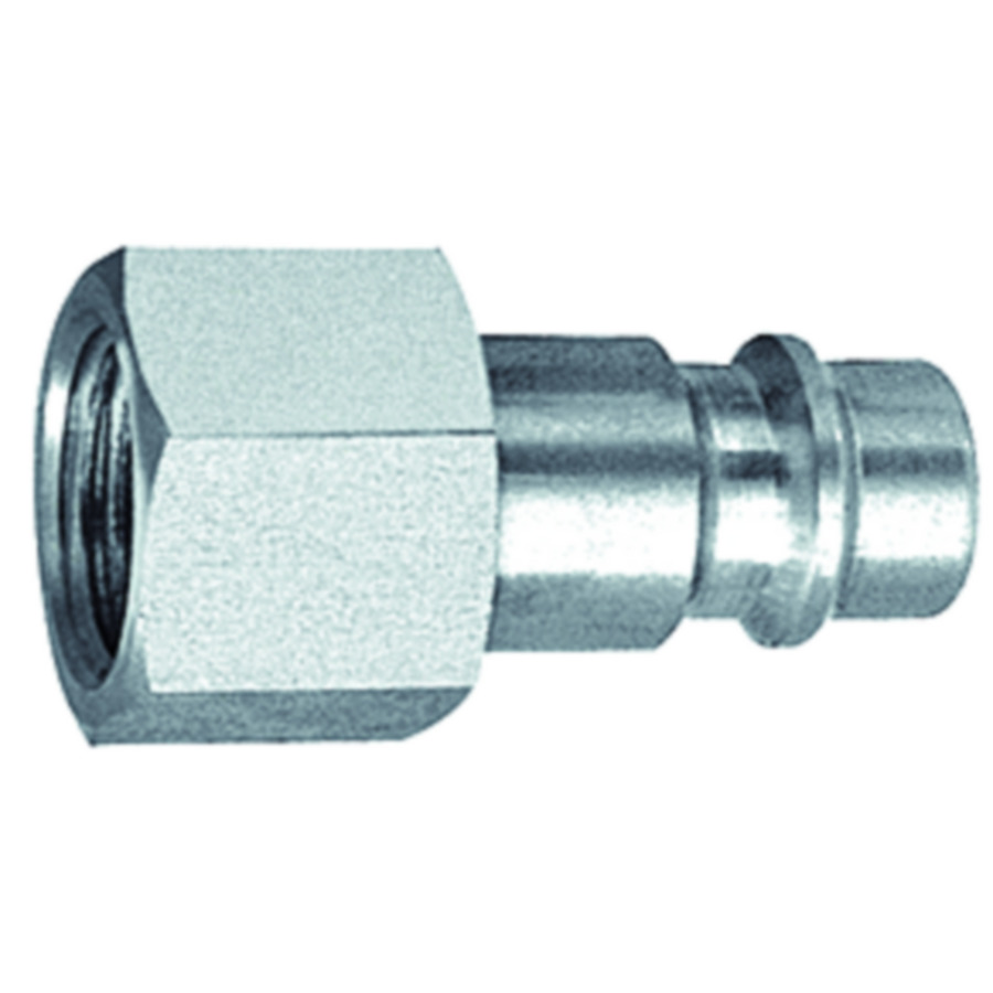 Stems and plugs for couplings DN 7.2 - DN 7.8, stainless steel 1.4305