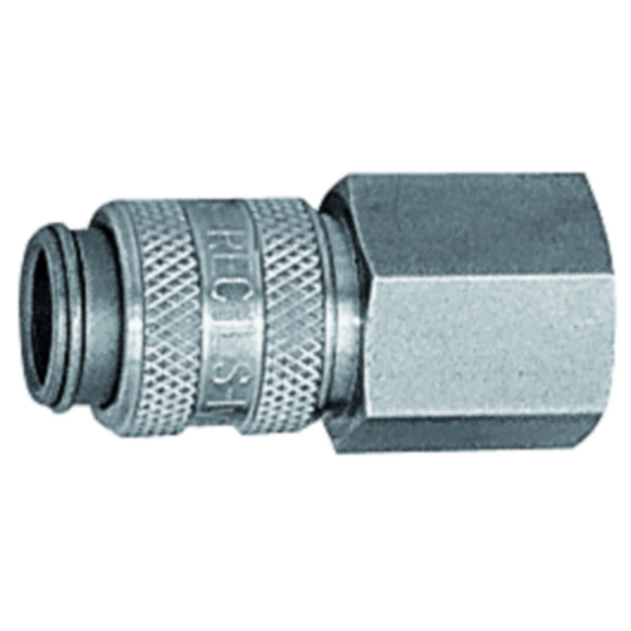 Quick disconnect couplings DN 5, stainless steel 1.4305