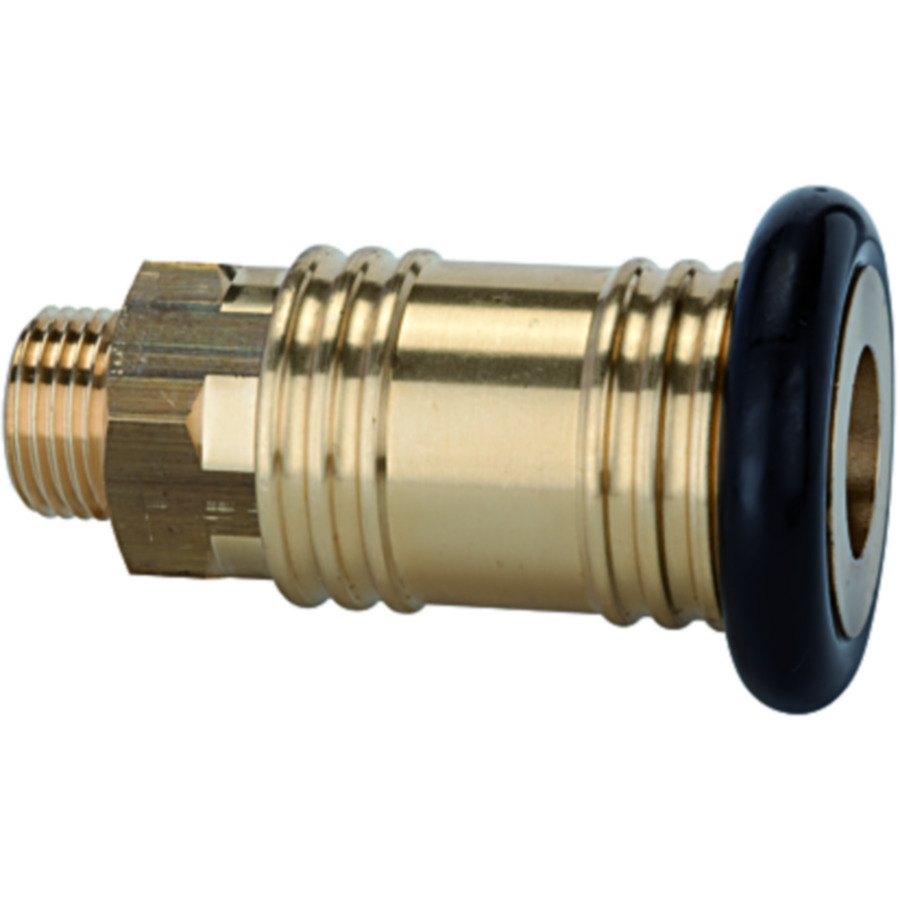 Quick disconnect couplings DN 12, brass - for garages