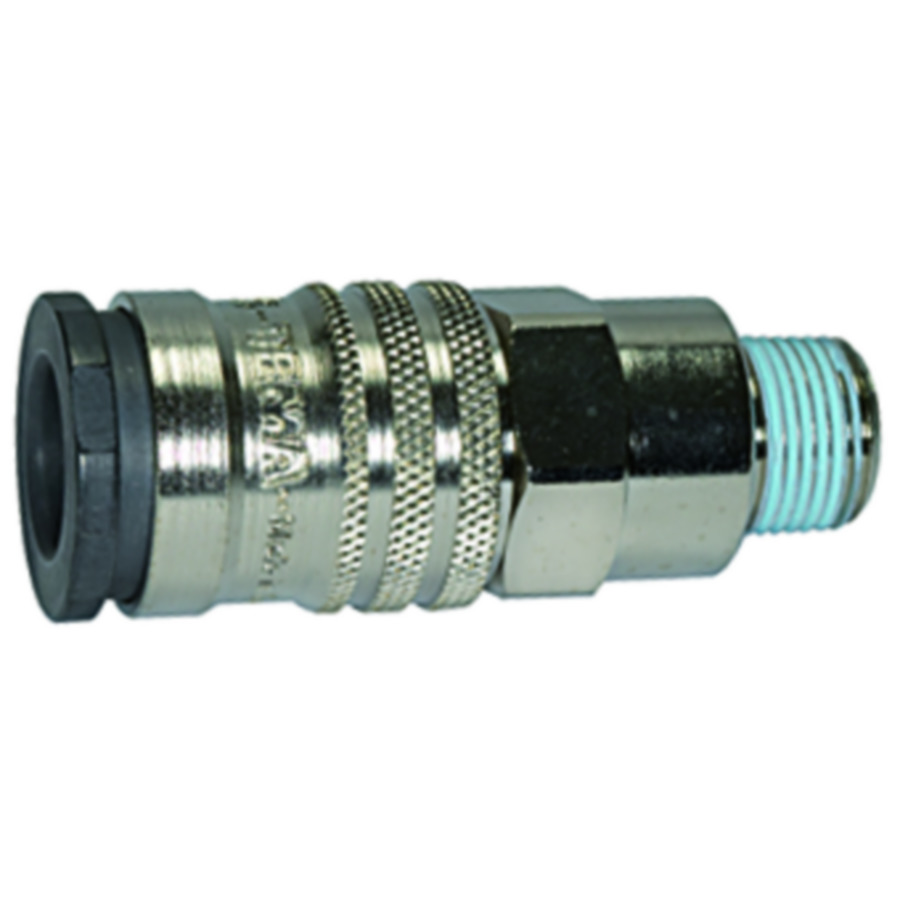 Quick disconnect couplings DN 10 - for extremely high flow rates