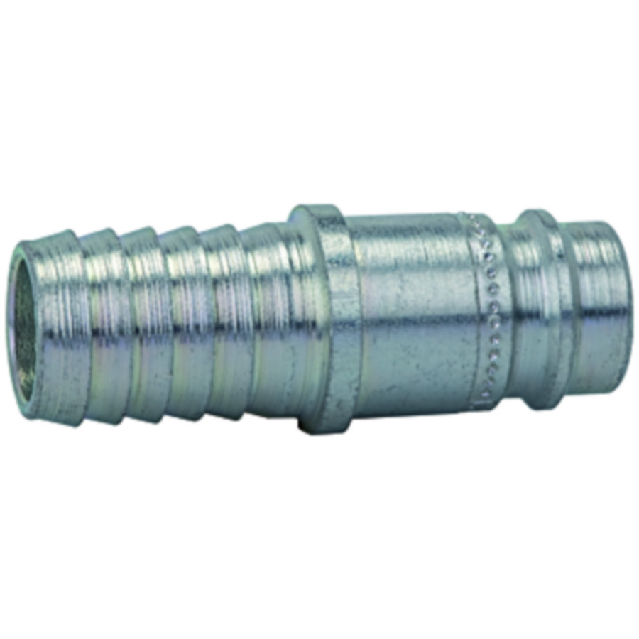 Stems and plugs for couplings DN 10, hardened, galvanised steel, robust type