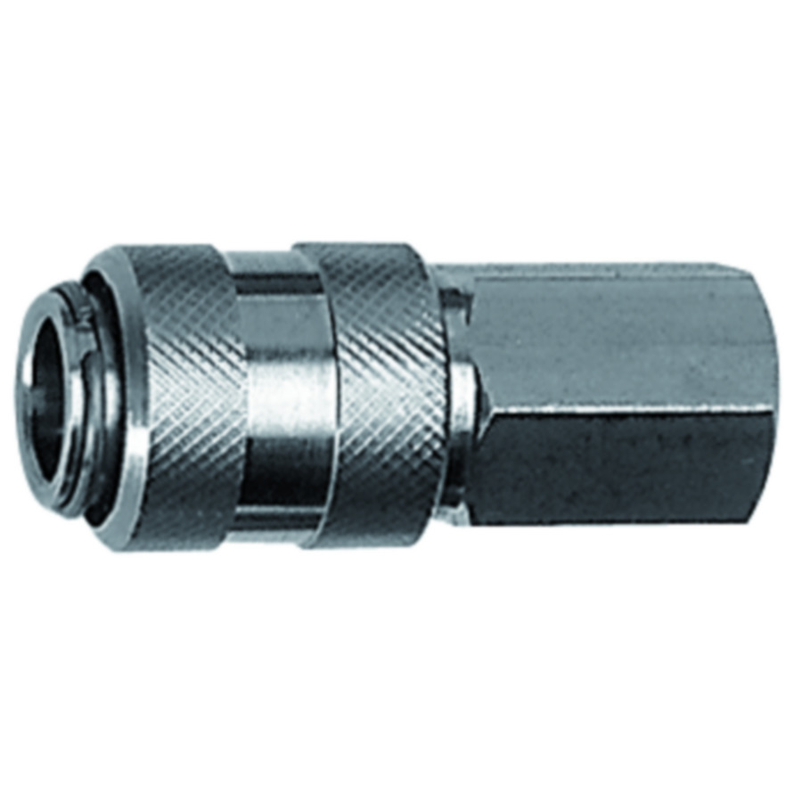 Quick disconnect couplings DN 7.8, stainless steel 1.4305