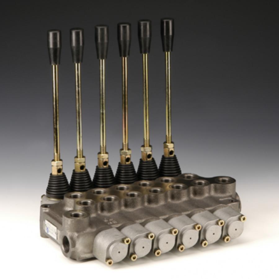 Моноблочные клапаны с ручным управлением