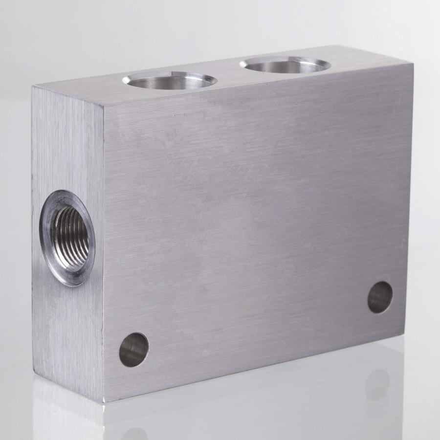 Корпус клапана алюминий/сталь - картридж SUN