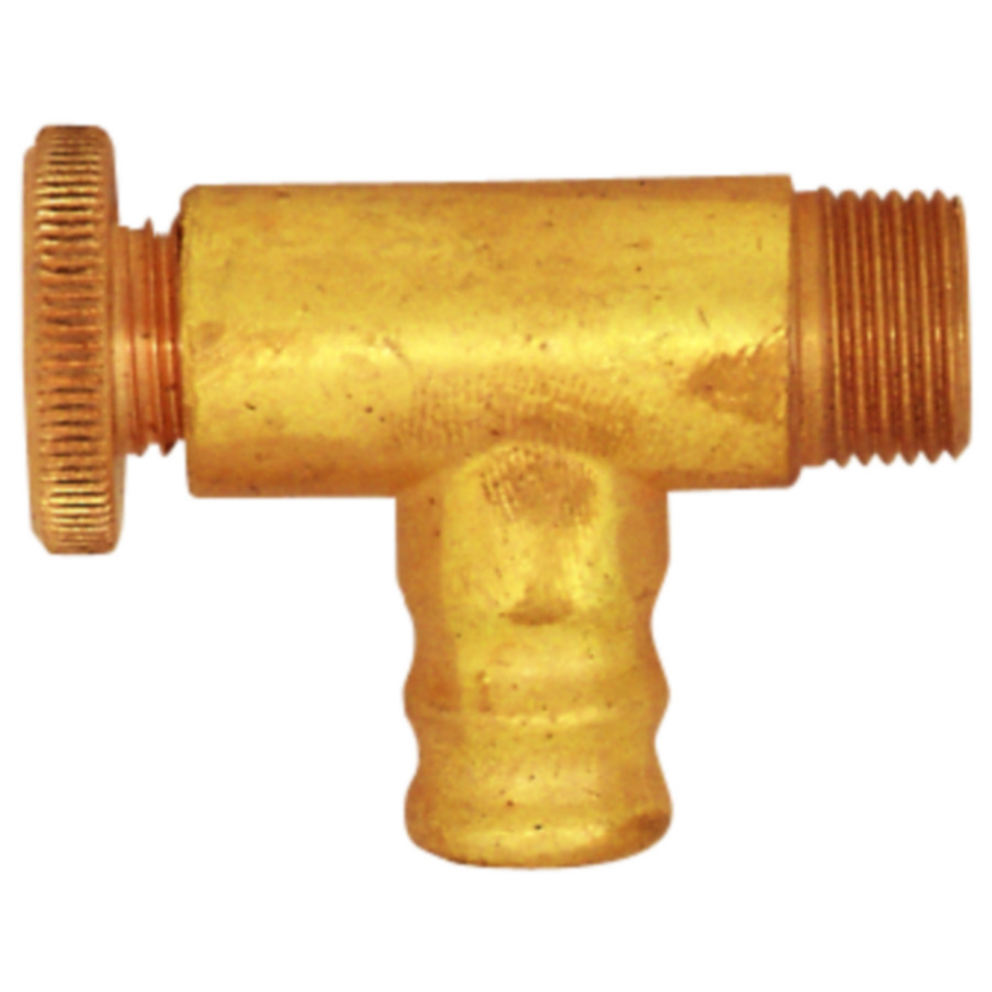 Drain and vent valves