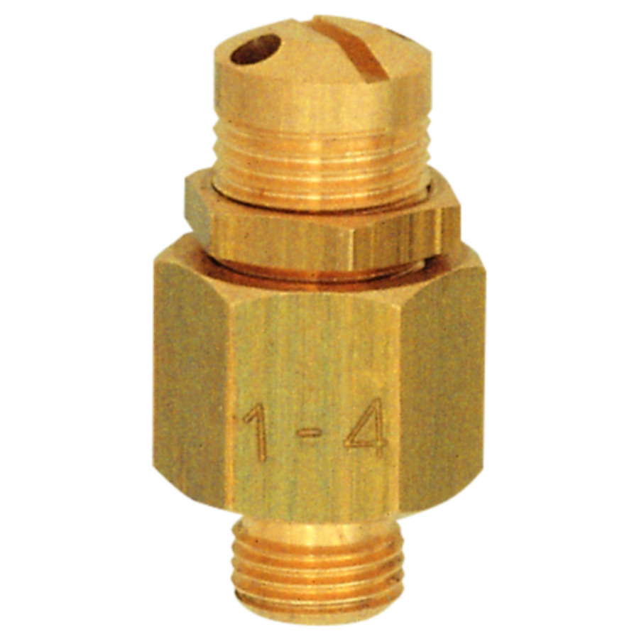 Mini-blow-off valves - brass