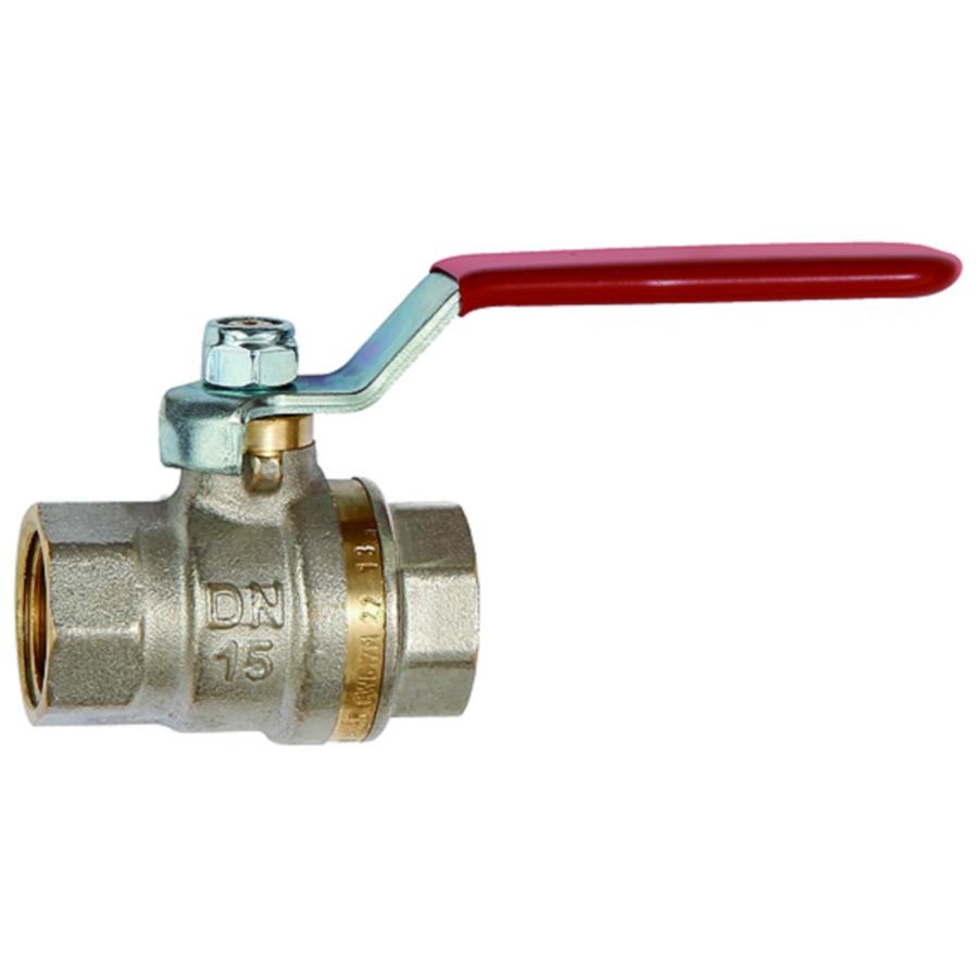 Ball valves - steel lever