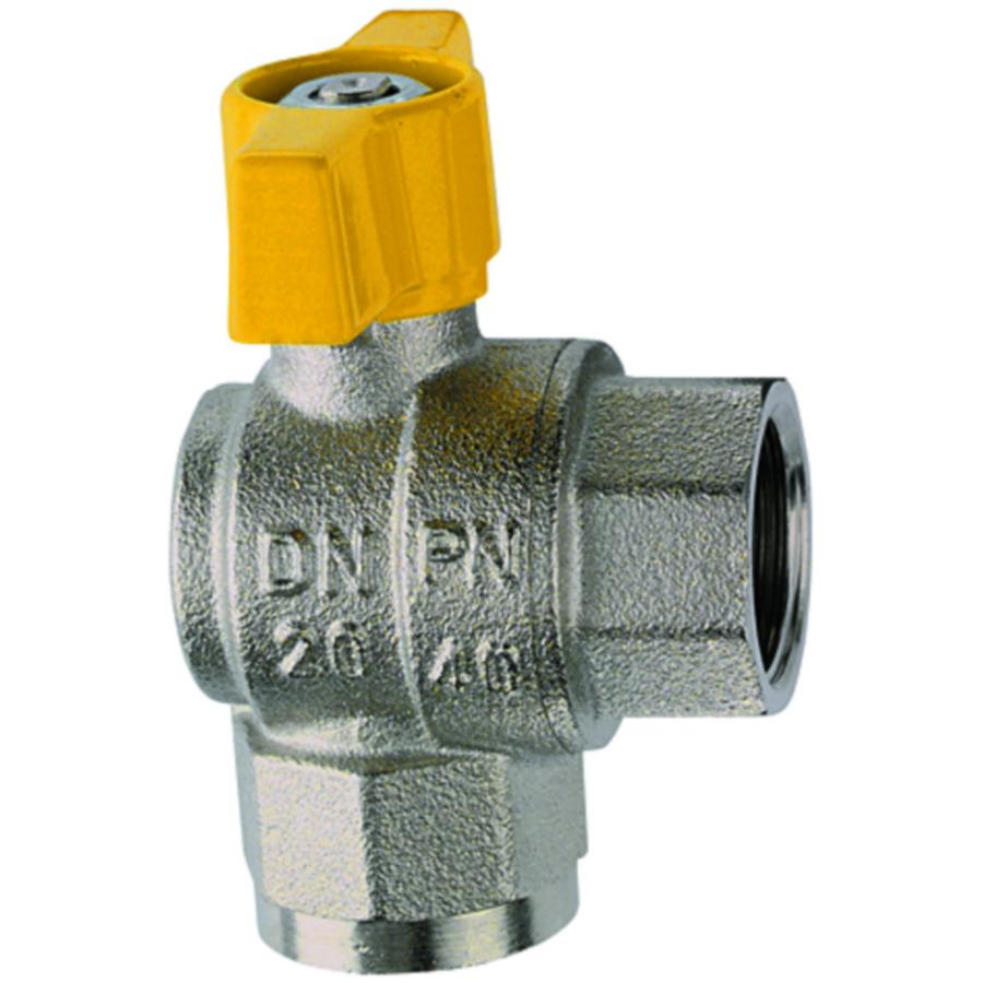 Angle-type ball valves