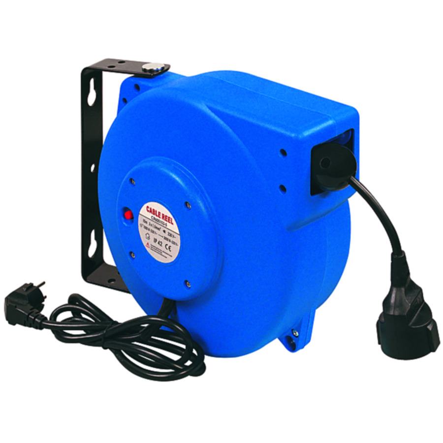 Electric cable winder