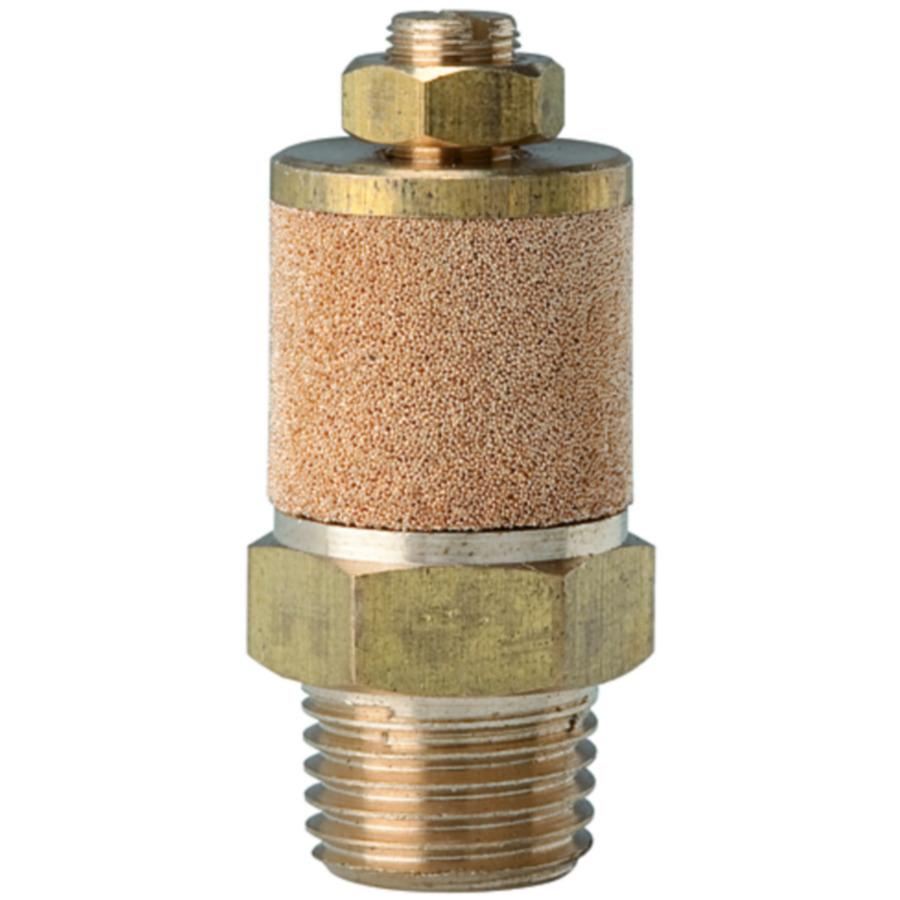 Sintered bronze silencers (adjustable)