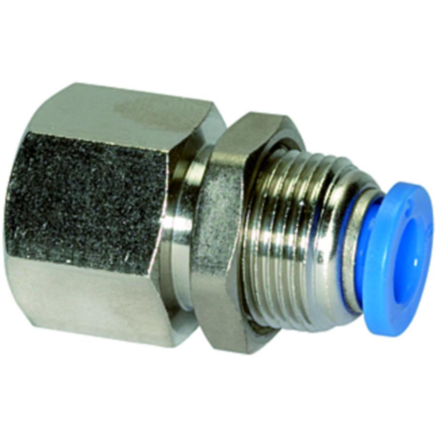 Male bulkhead connectors »Blue Series«