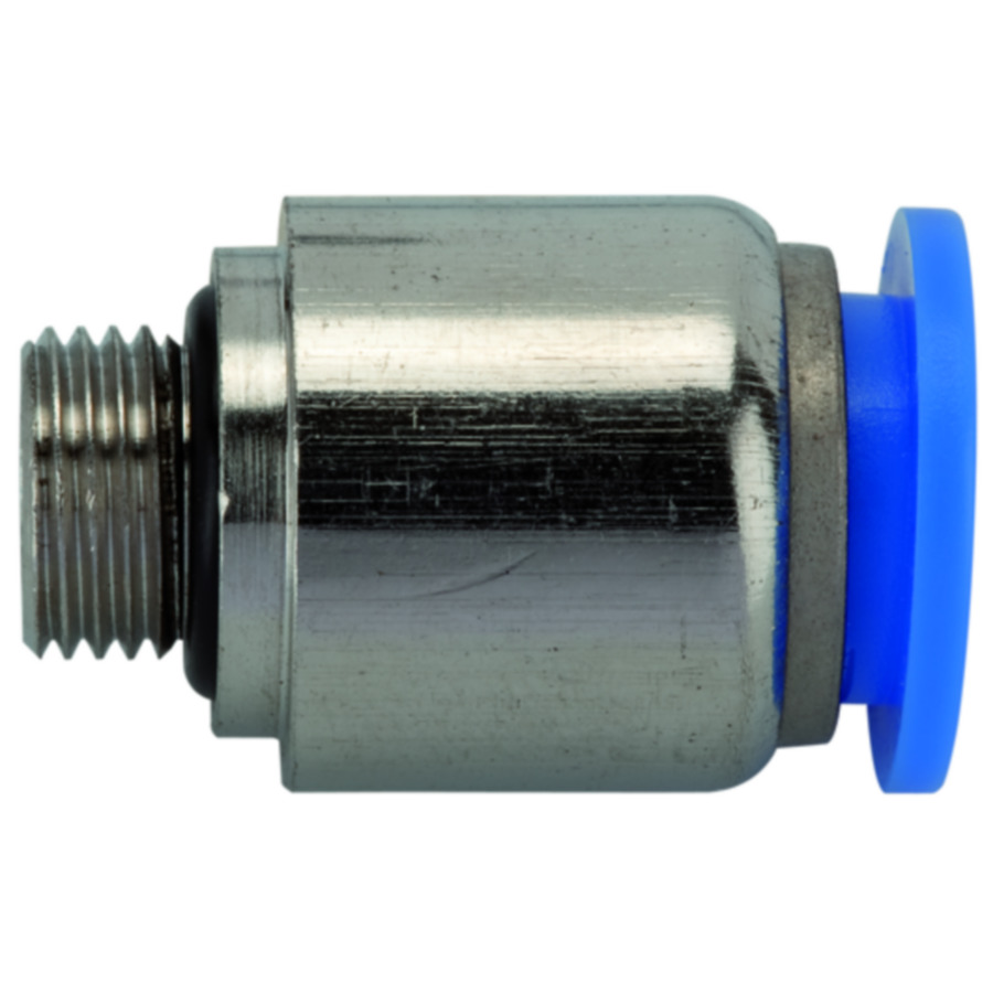 Male connectors, round »Blue Series«