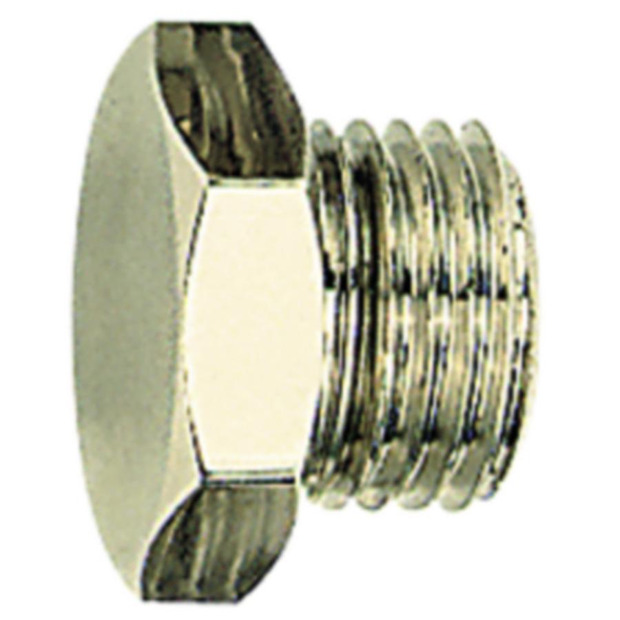 Screw plugs - nickel-plated brass