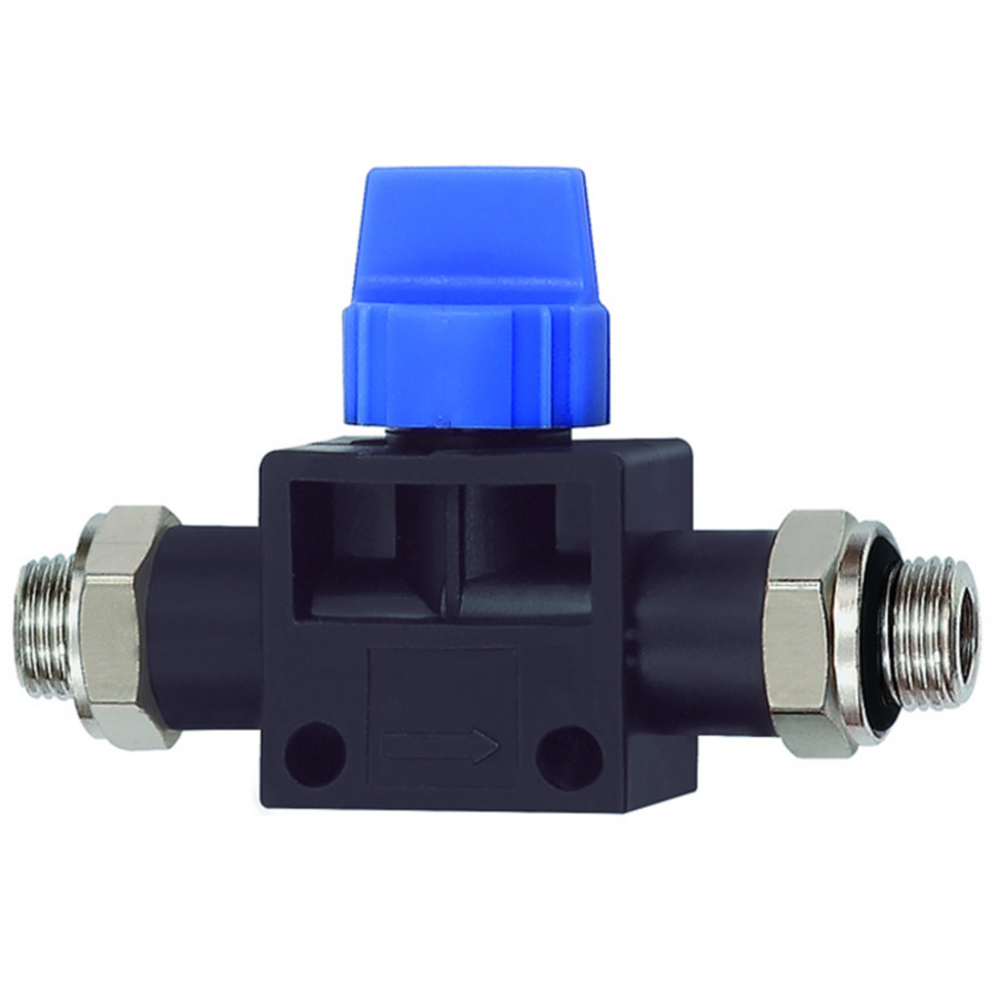 3/2-way pilot valves with male thread »Blue Series«