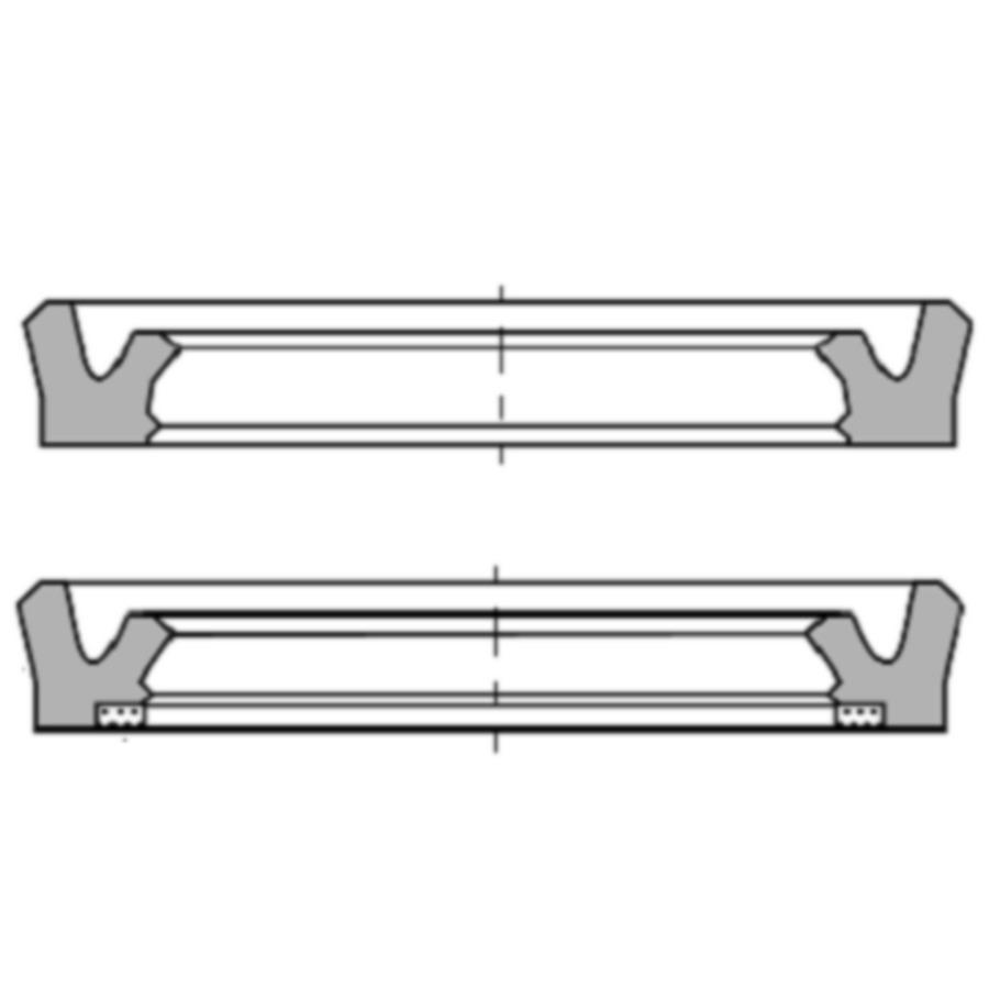 U-образное уплотнение для штока, RS-L, RS-LA