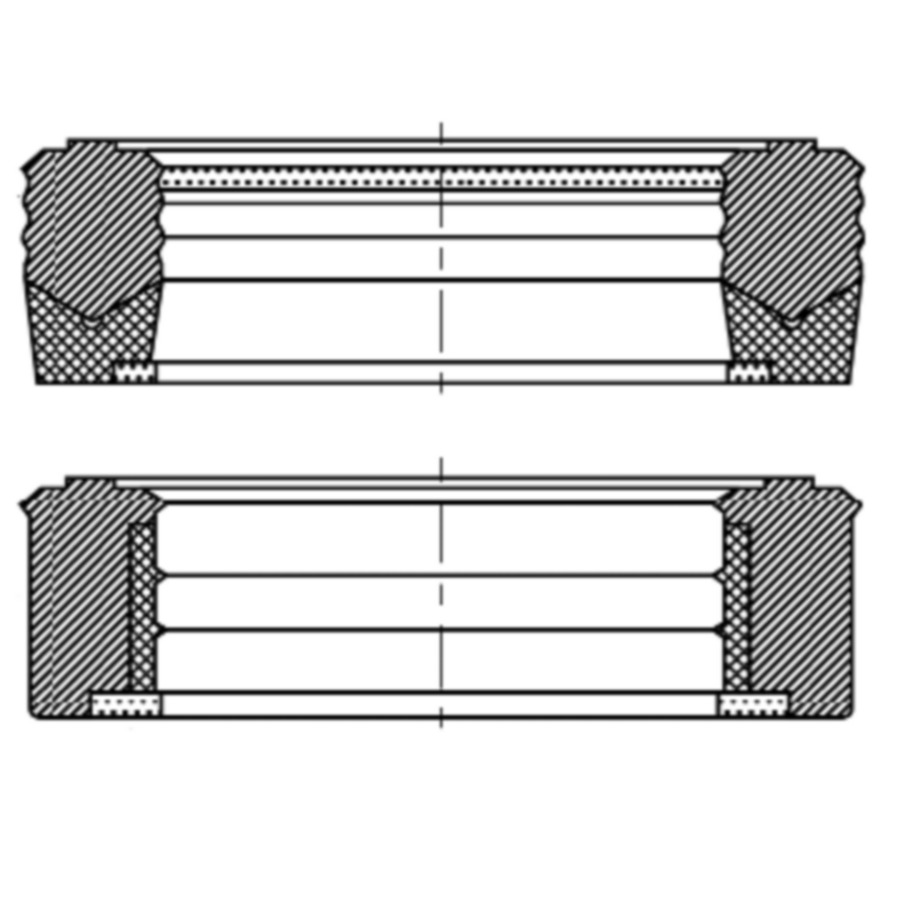 Комплект уплотнений для штока, SM, SM-M