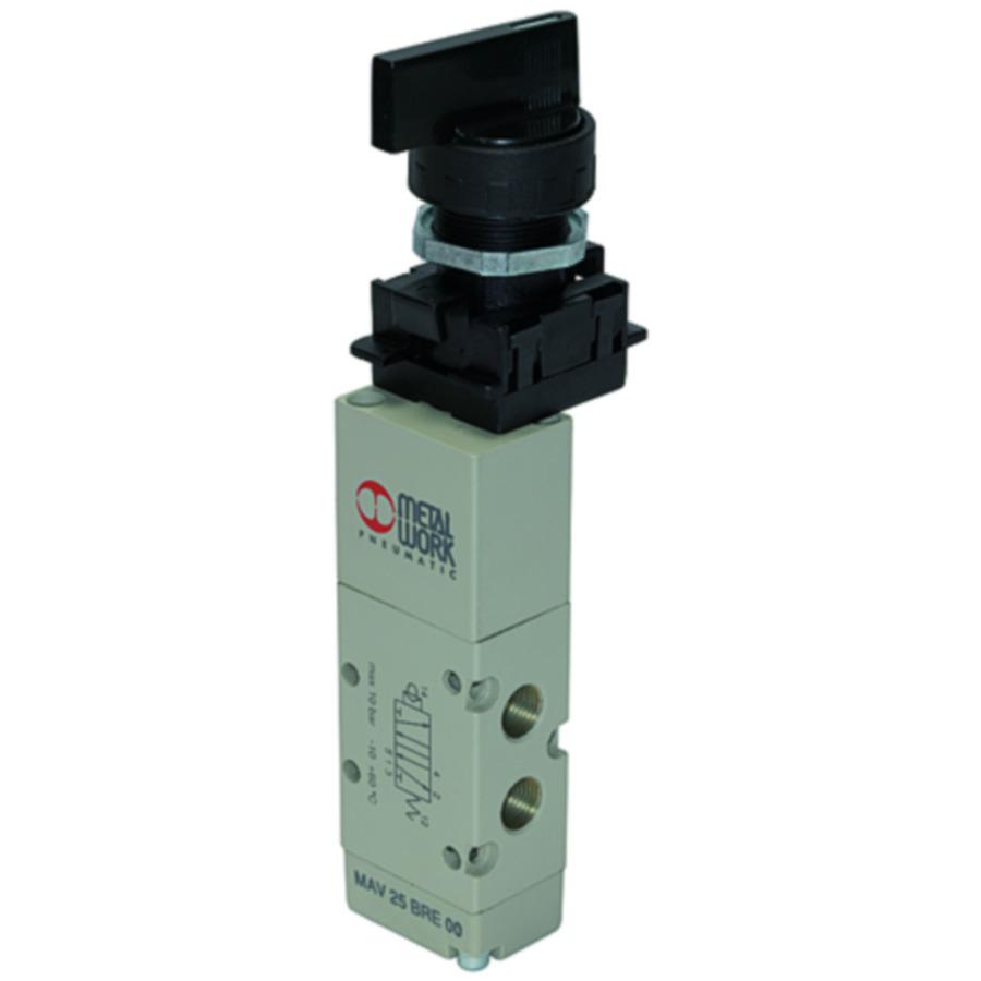 5/2-way pilot valves