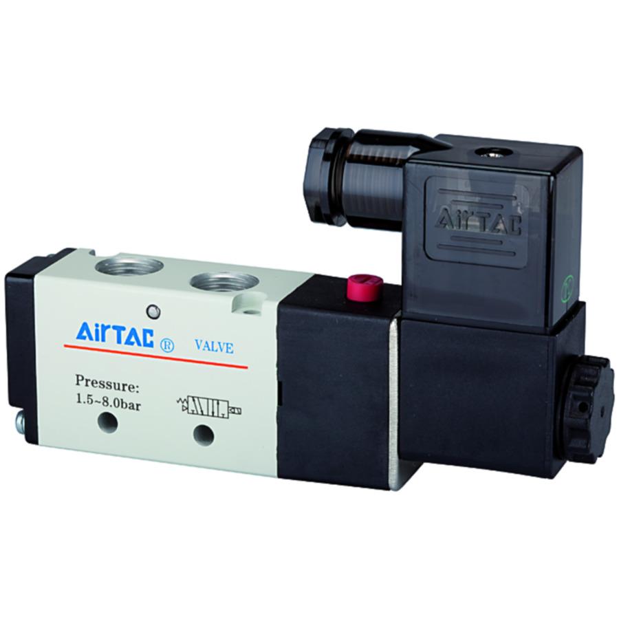 5/2-way pilot valves, electro-pneumatic