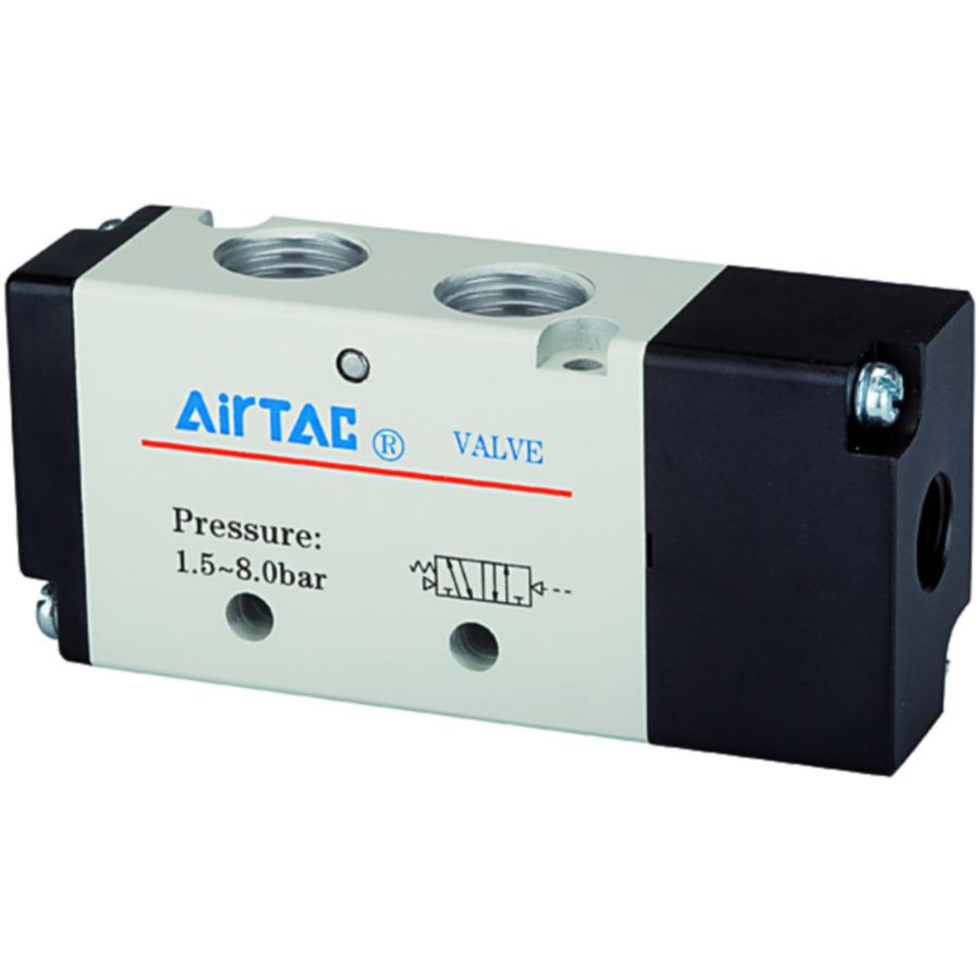 5/2-way pilot valves, pneumatic