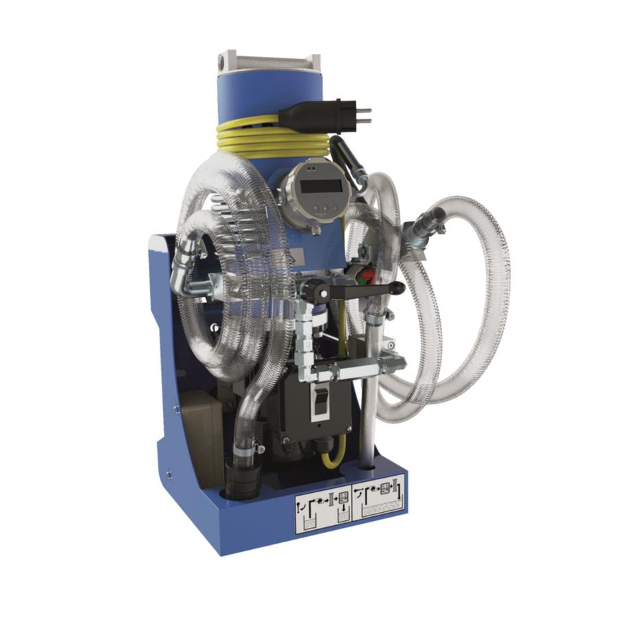 Маслофильтрационный агрегат
